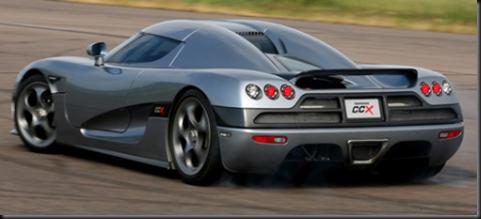 8. Koenigsegg CCX $545,568.